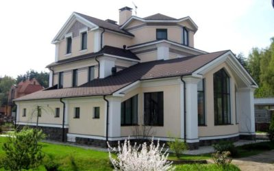 Выбор фасада дома