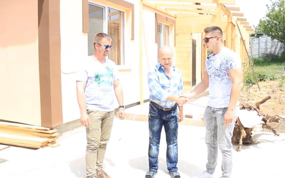 Отзыв заказчика о доме 90 кв.м. от компании StoneHouse в Севастополе