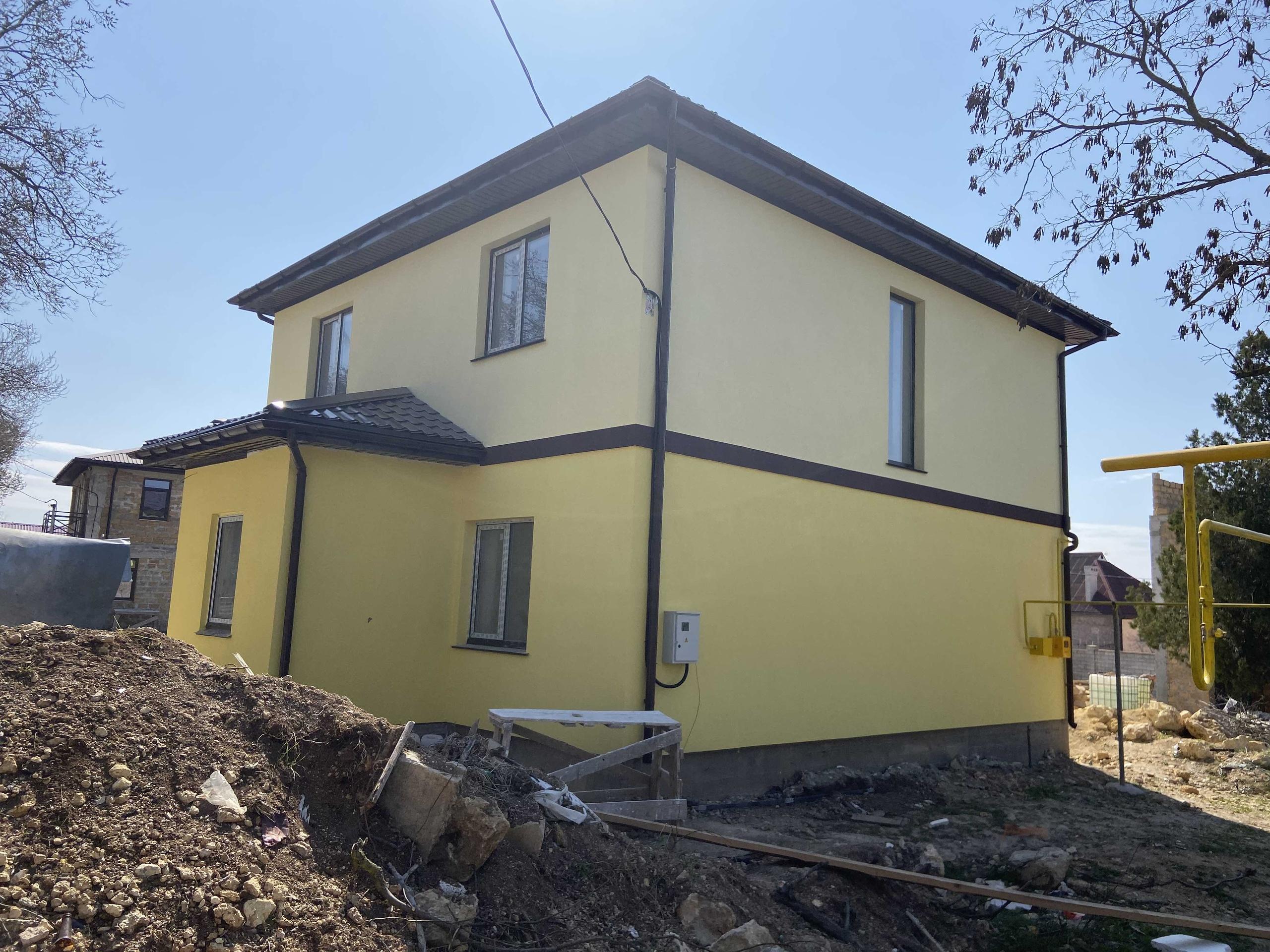 Утепление фасада и покраска в Севастополе и Крыму