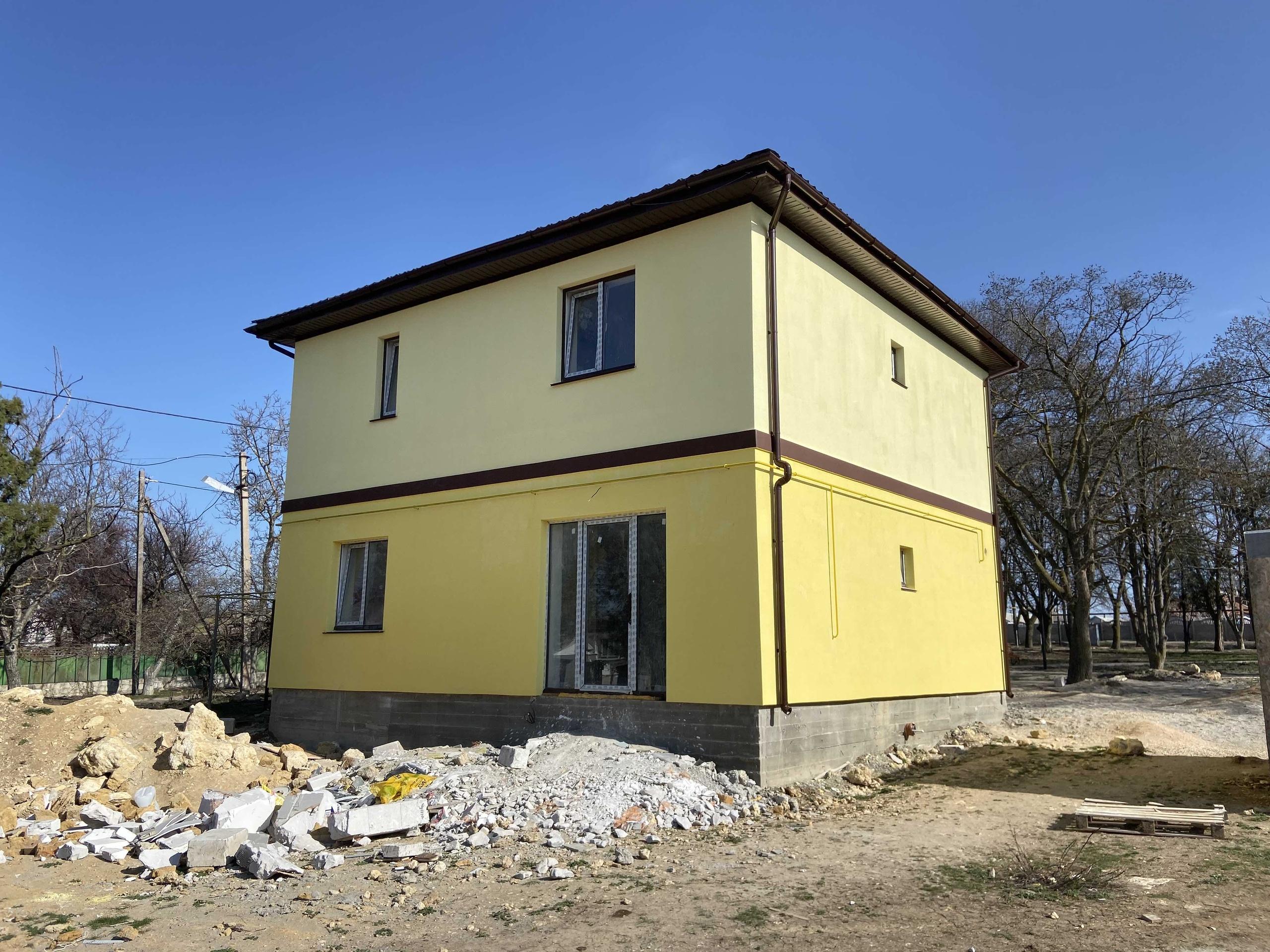 Фасадные работы в Крыму и Севастополе