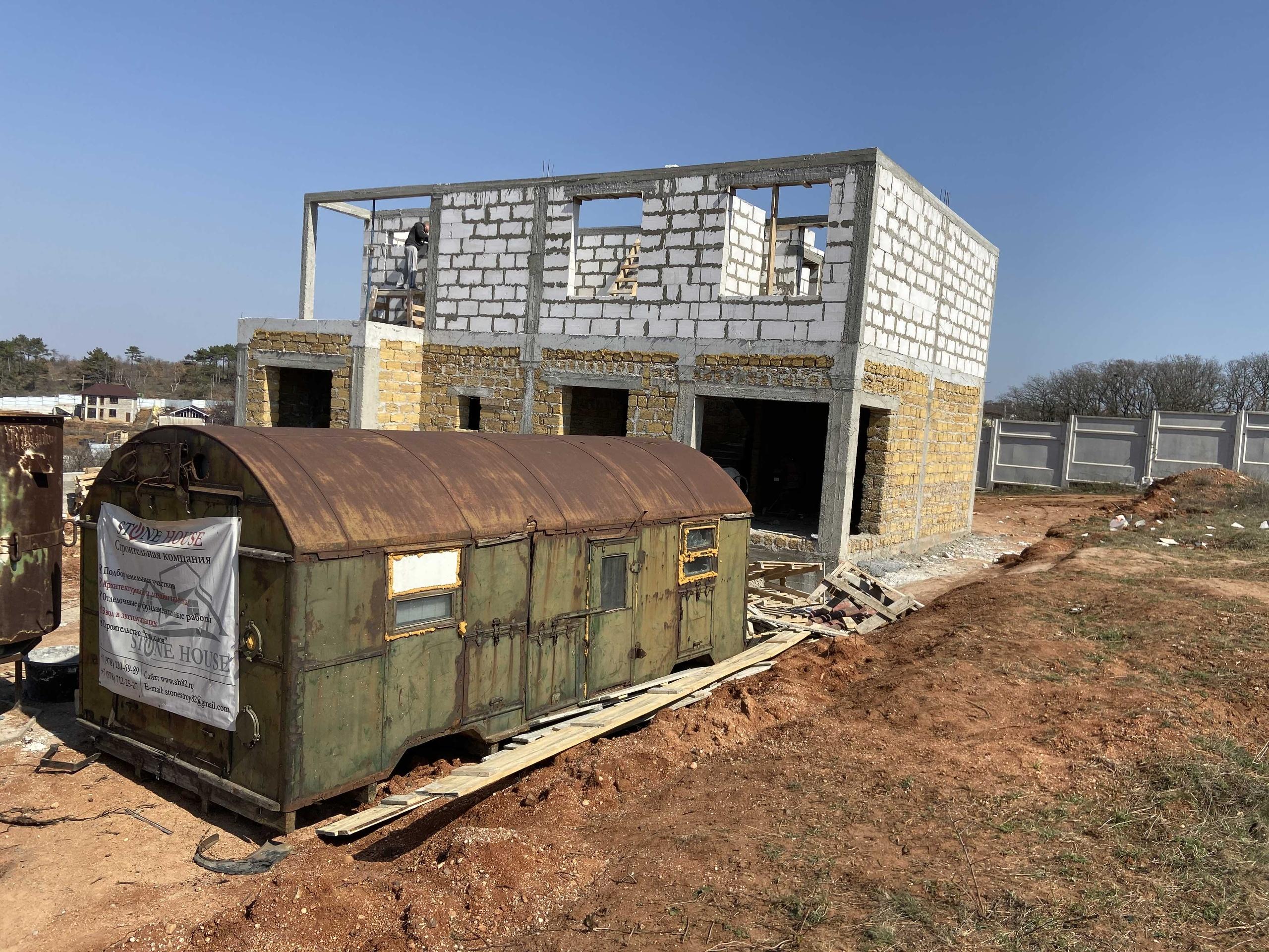 армопояс дома в крыму и Севастополе от СТоун хаус