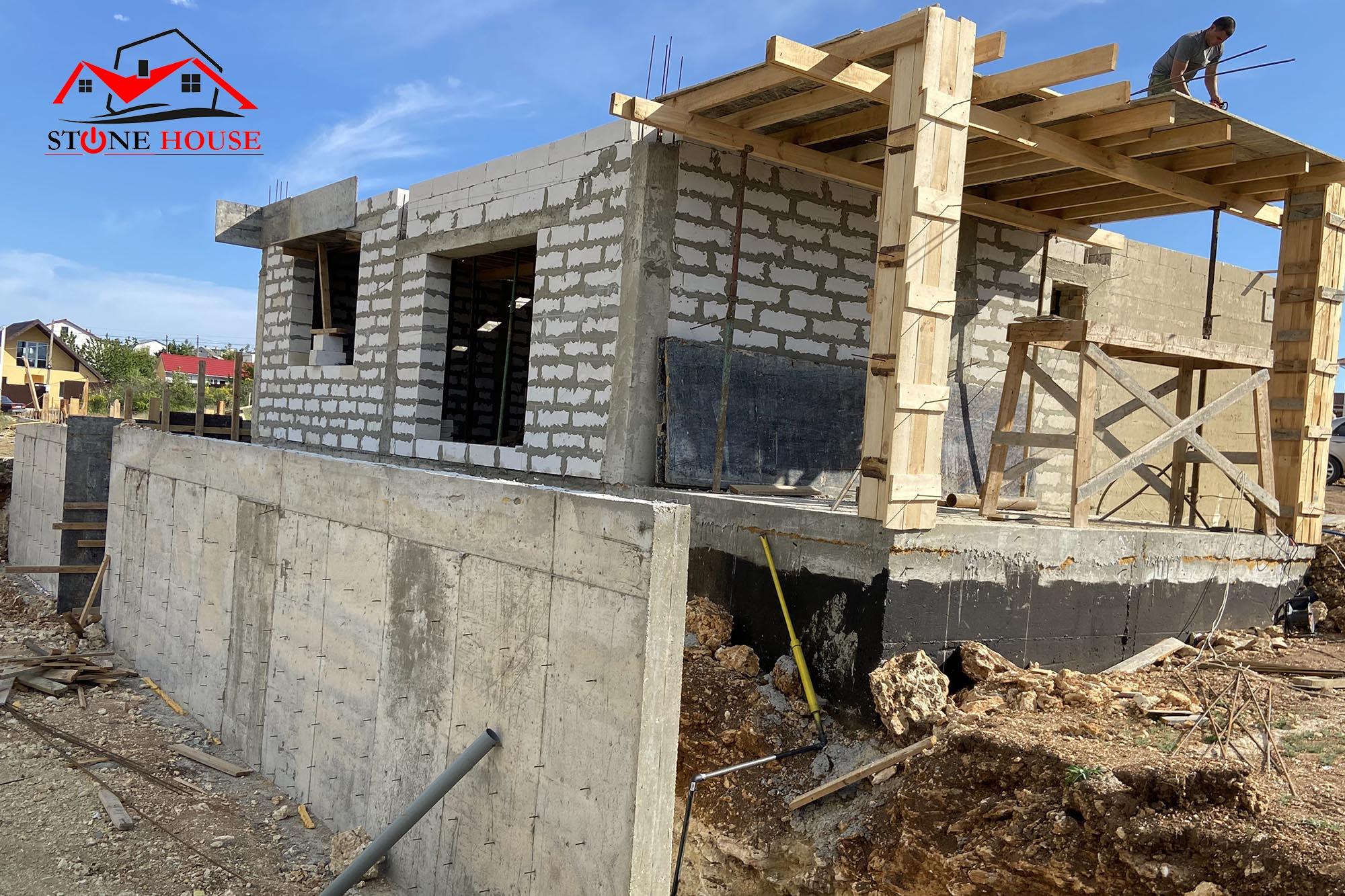 Построить дом в Севастополе Стоунхаус