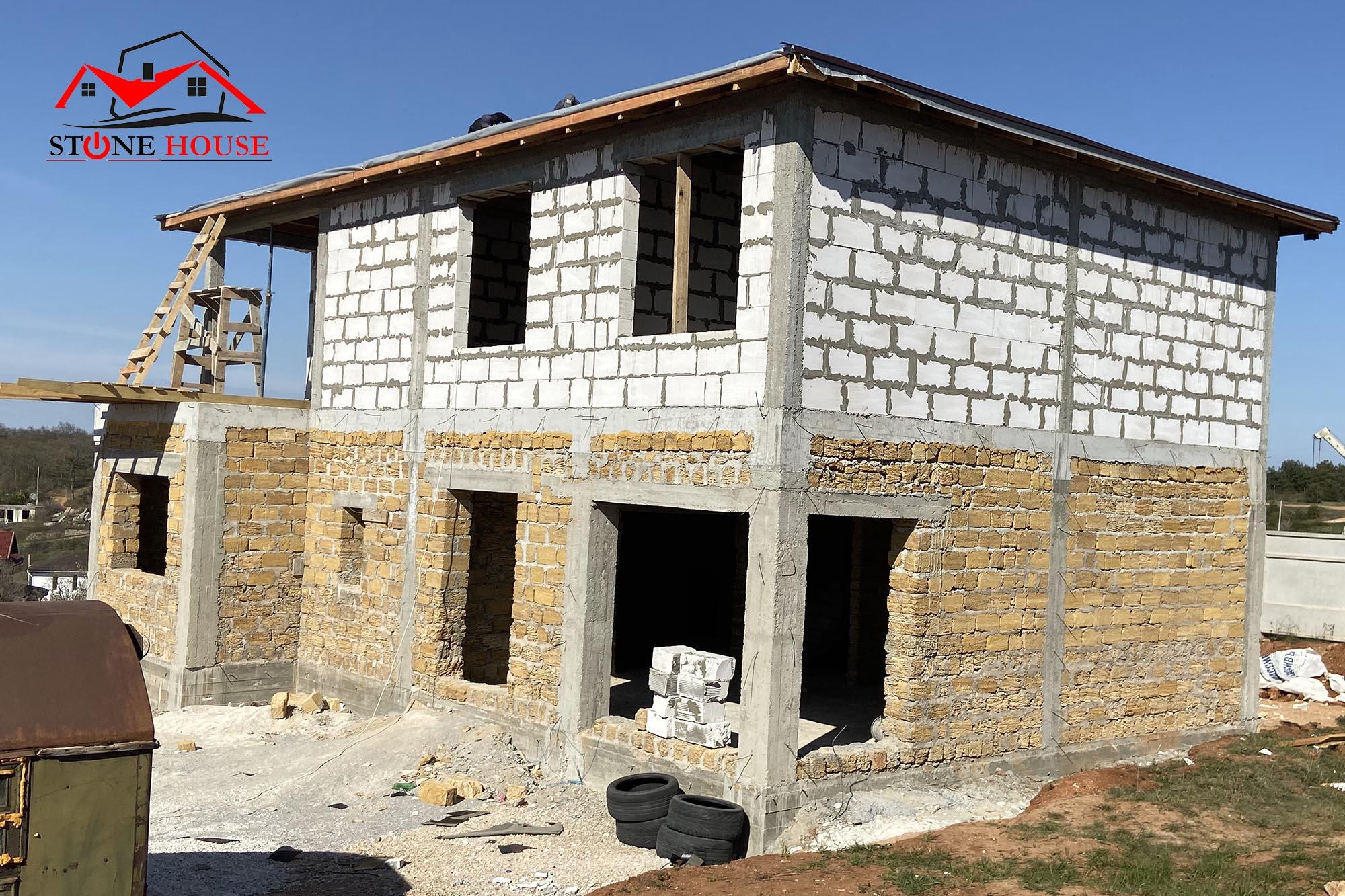 Строительство домов В Севастополе от компании СтоунхАус