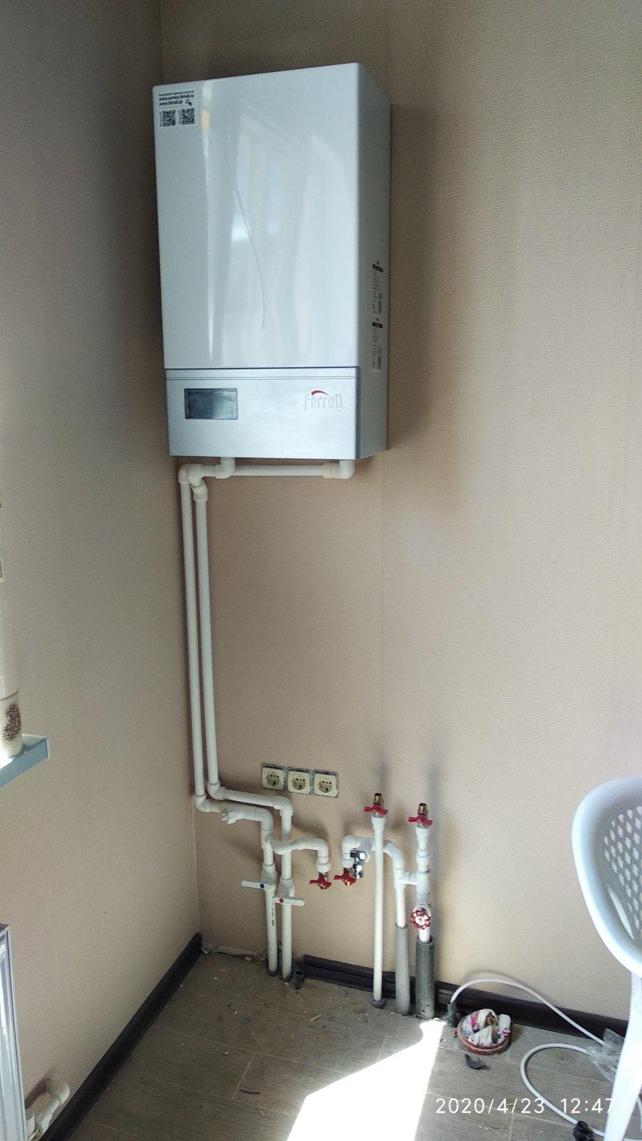 Отопление частного дома стоунхаус