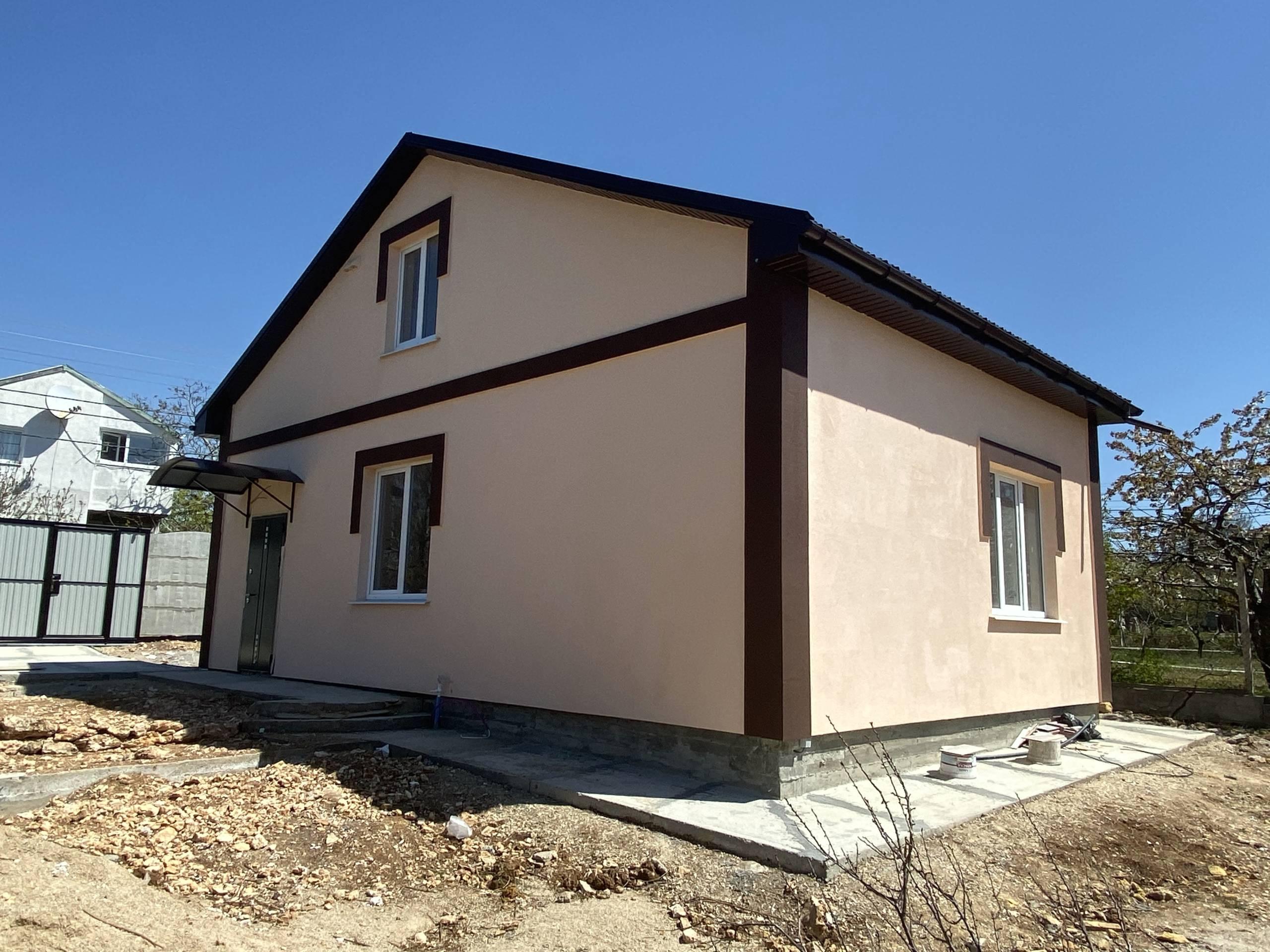 купить готовый дом в Севастополе Стоунхаус