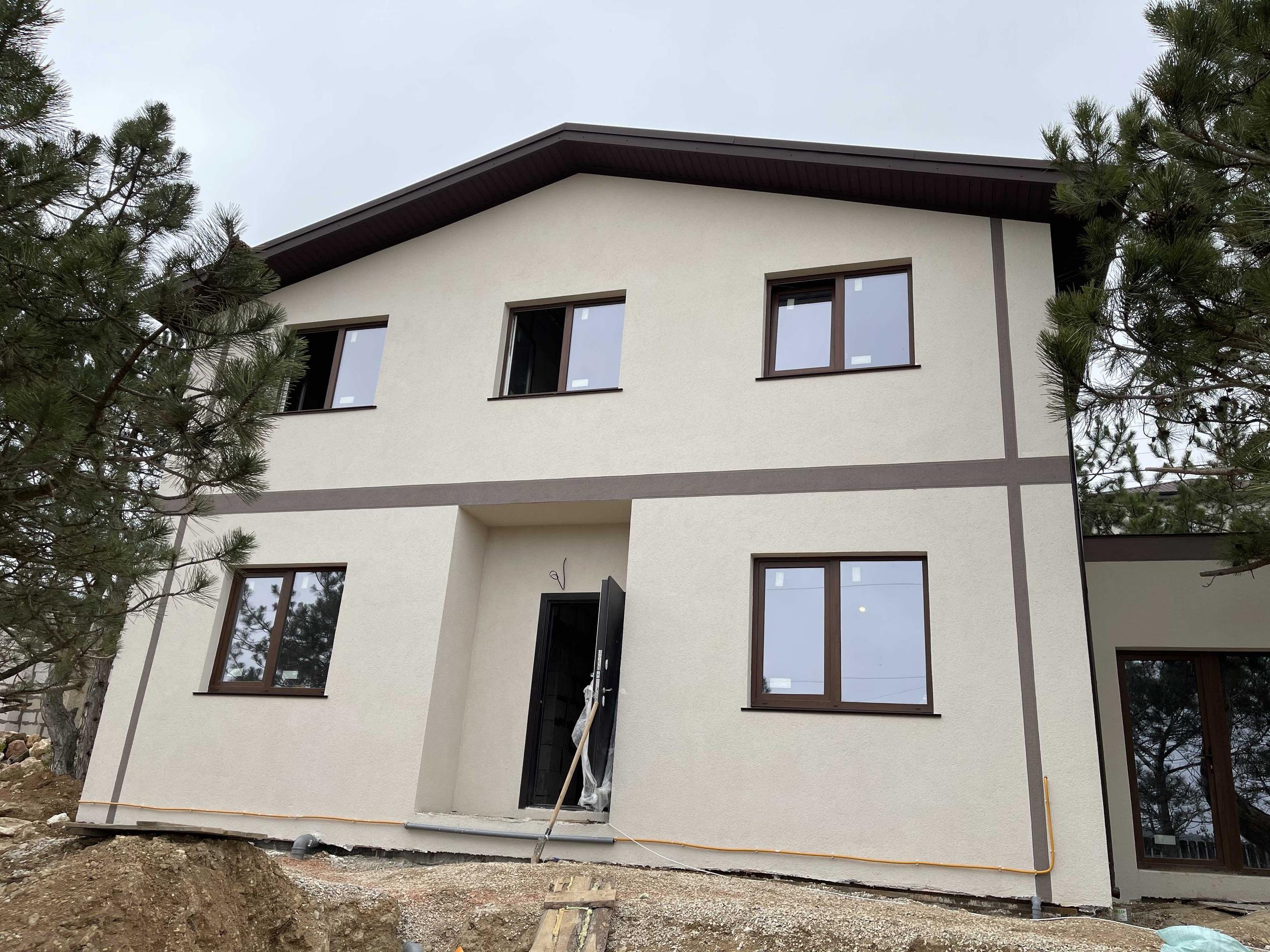 дом с фасадом купить в Севастополе